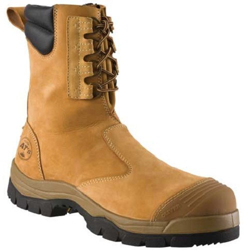 Boot Oliver At55 High Leg Zip Sided C W Toe Guard Pu
