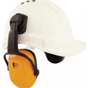 Earmuff – Cap Attach Unisafe Zone 1 (CL 4 – 24dB) – Yellow