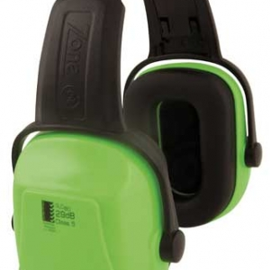 Earmuff – Headband Unisafe Zone 2 (CL 5 – 29dB) – HI VIS Lime