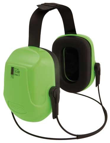 Earmuff – Neckband Unisafe Zone 2 (CL 5 – 30dB) – HI VIS Lime
