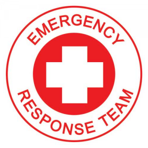 ProChoice Helmet Decal – 'EMERGENCY RESPONSE TEAM'