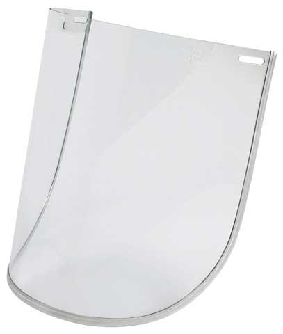 UniSafe Polycarbonate Hi Impact Visor – Clear 1MM Bound